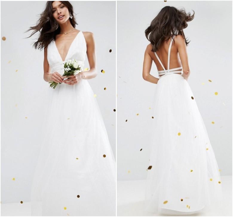 ASOS BRIDAL Tulle Maxi Prom Dress