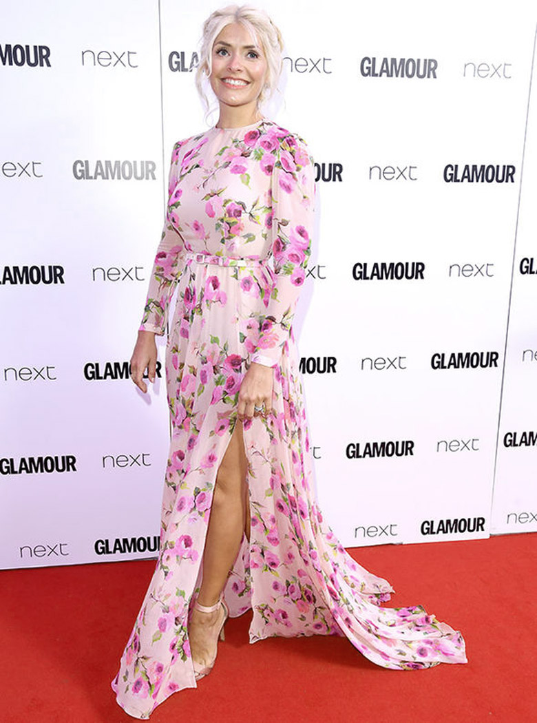 Holly Willoughby Floral Dress Wedding Guest Dresses Alexie
