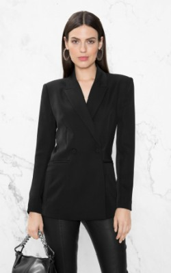 &OtherStories Waisted Blazer in black