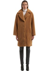 Luisaviaroma - Stand Camille Cocoon Teddy Faux Fur Coat