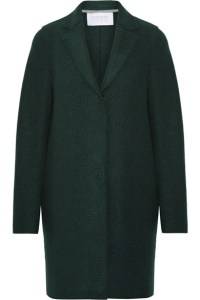 Net-a-Porter Harris Wharf London Cocoon wool-felt coat