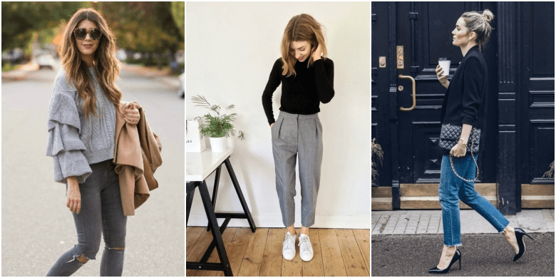 Smart casual Work Wear for Women in Winter