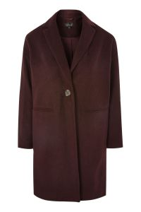 Topshop Relaxed Fit Coat