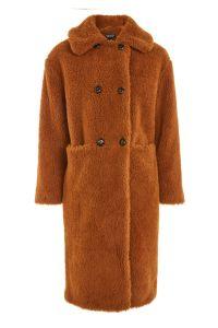 Topshop Teddy Double Breast Coat