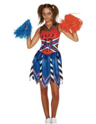 Tesco - Zombie Cheerleader Halloween Costume