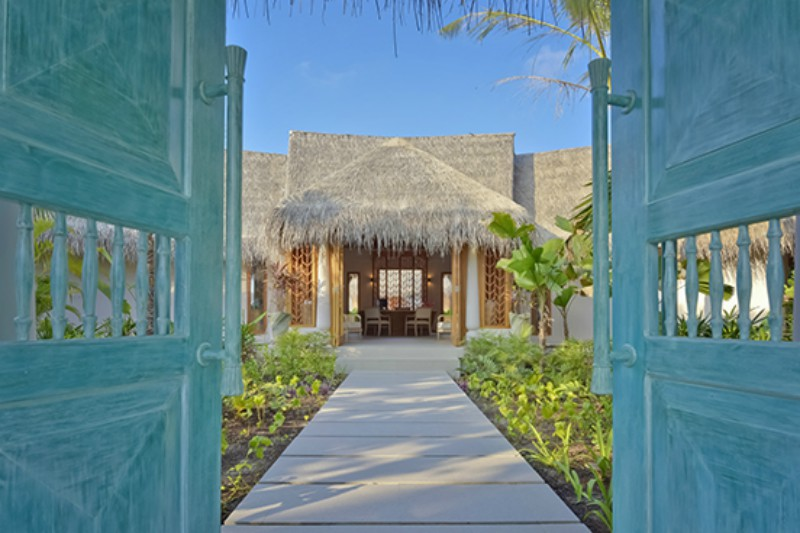 Milaidhoo Spa doors maldives