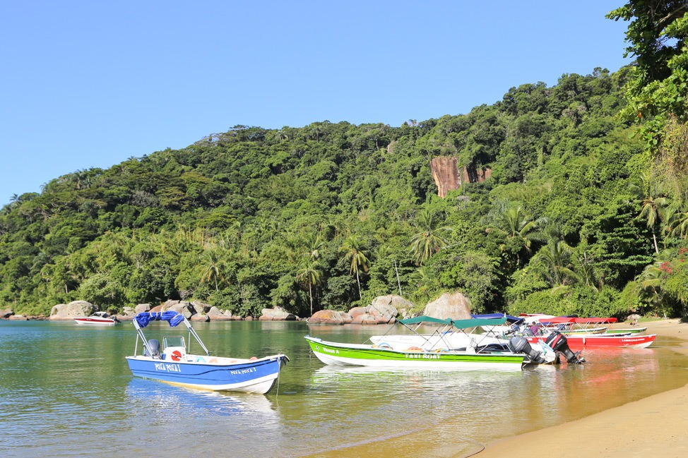 Hiking on Ilha Grande