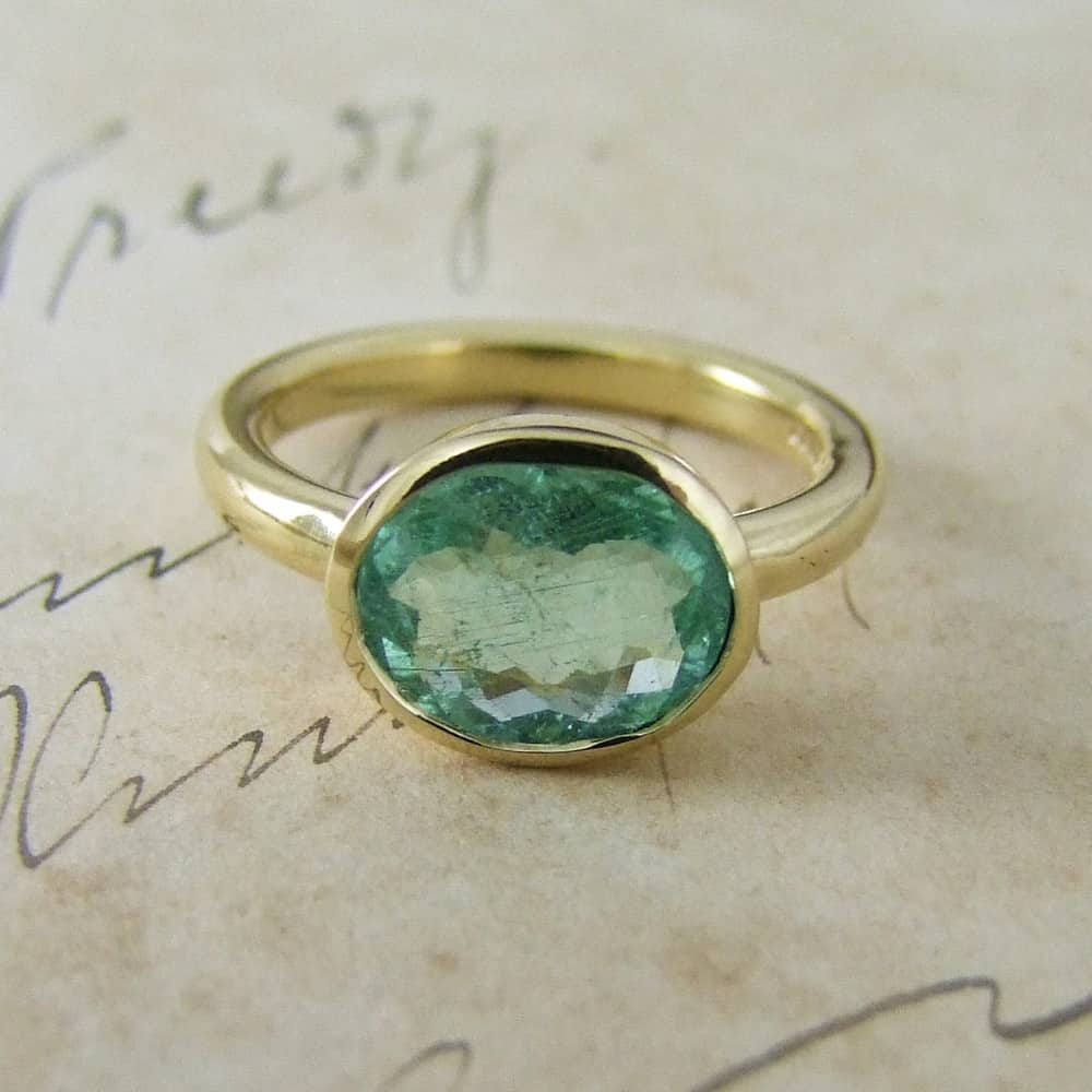Paraiba Tourmaline Ring Alexis Dove Jewellery