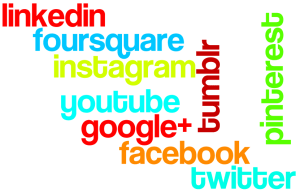 top 9 socialnetworks voor business wordle