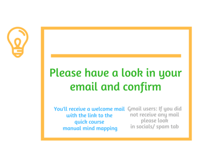 Have a look in your email and please confirm