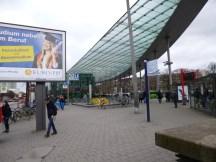 Hamburg-Kassel: Ankunft mit dem Bus in Hamburg am ZOB