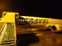 Hamburg-Kassel: Nach der Landung - Boeing 737-900ER der Travel-Service (OK-TSI) am Kassel Airport