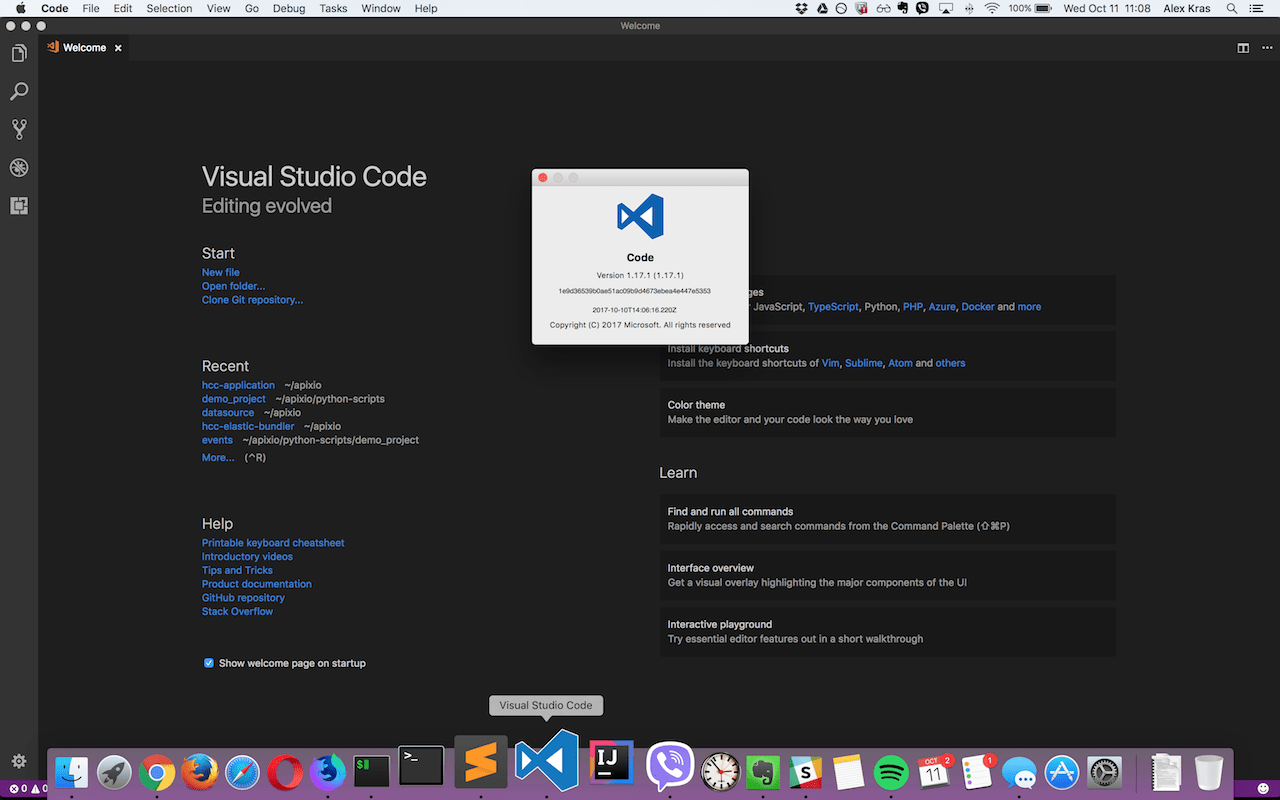 Restoring Original Visual Studio Code Icon on MacOS