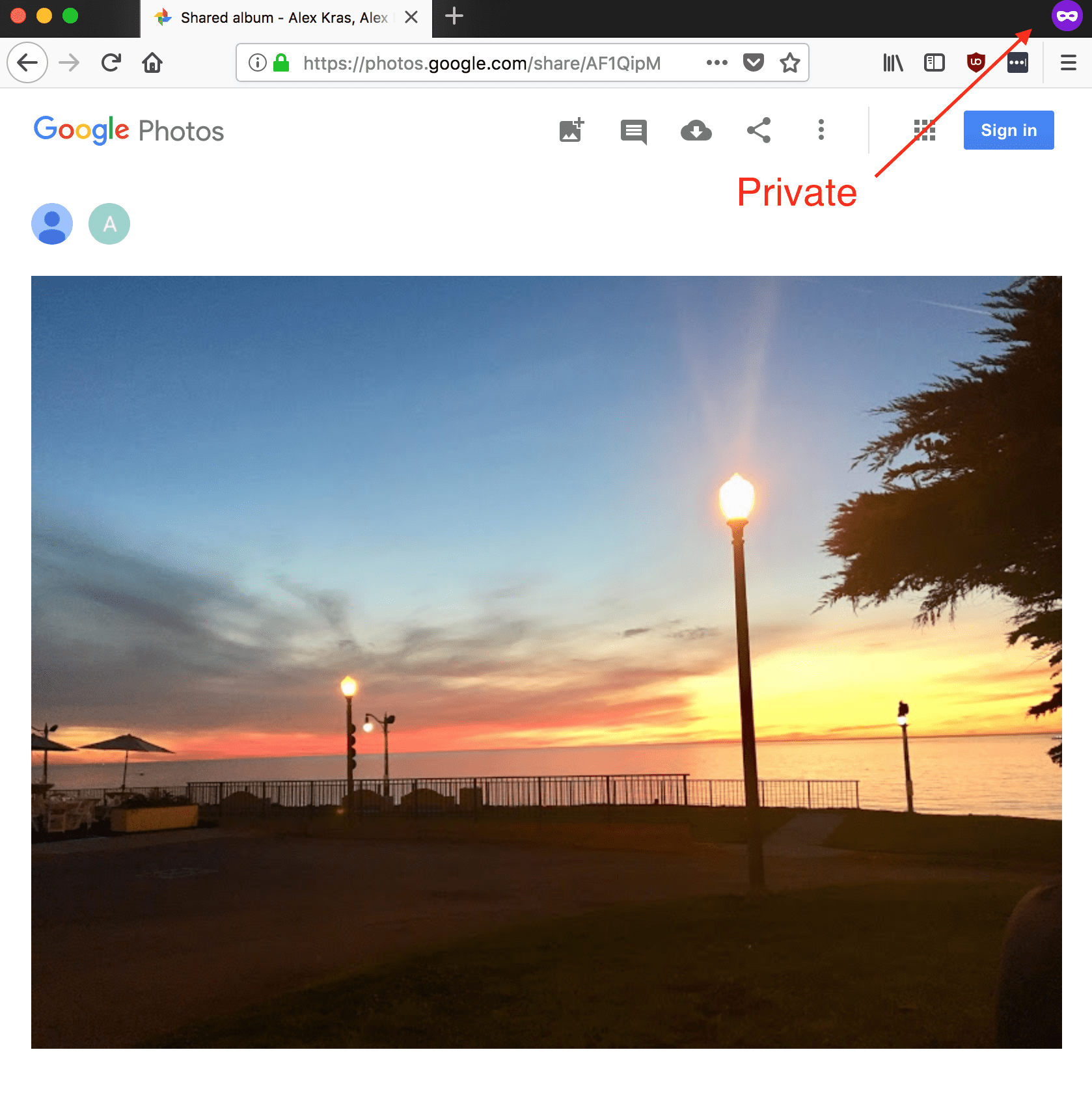 How do i access my iphone pictures on my mac