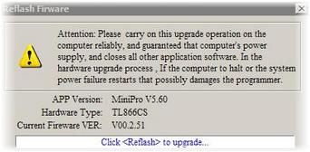 MiniPro TL866 USB Universal EPROM FLASH laptop bios