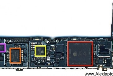 مخطط جهاز iPhone 4 Schematics Diagram