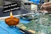 حل عطل ومشكلة الاضاءة في اللاب توب | How To Repair Laptop Backlight