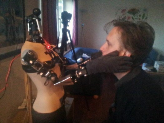 My New Robot Companion Face Touch