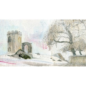 mounted print of Bradgate Park Leicestershire