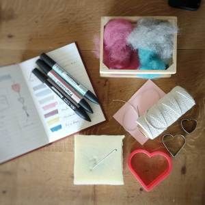 needle felting online tutorial what you need