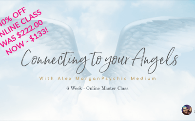 40% OFF – CONNECTING TO YOUR ANGELS ONLINE COURSE!