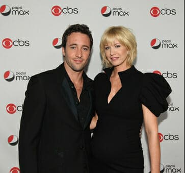 Alex O'Loughlin at the CBS Pepsi Max premiere party