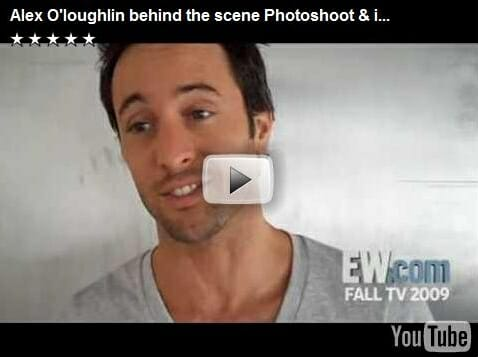 EW Photoshoot & Interview with Alex O'Loughlin