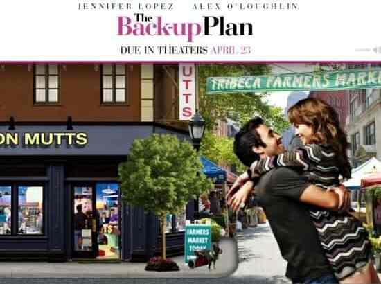 Win a Private Screening to The Back-up Plan!