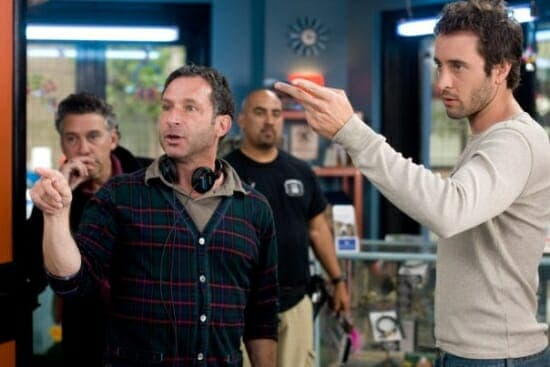 Alex O'Loughlin on the set of the The Back-Up Plan