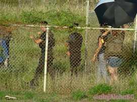 alex o'loughhlin shooting on location