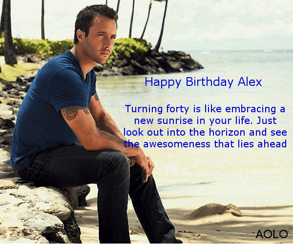 Happy Birthday to Alex O'Loughlin