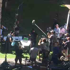 Hawaii Five O BTS state capital