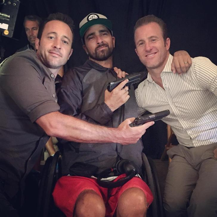 Jesse Billauer, alex o'loughlin, scott caan