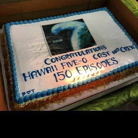 hawaii five episode 150 cake