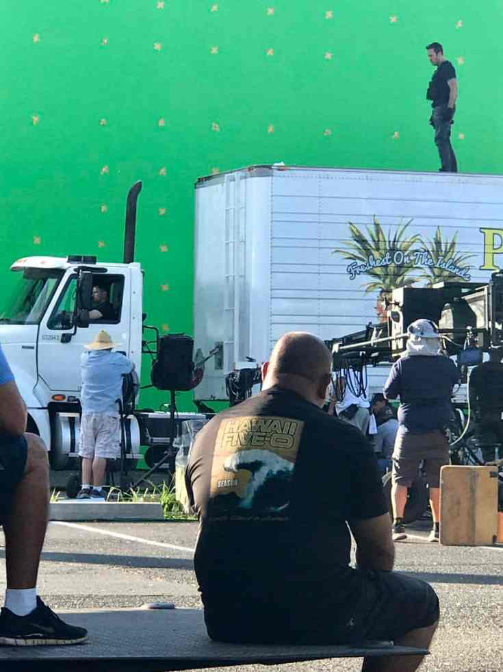 Alex O'Loughlin BTS season finale