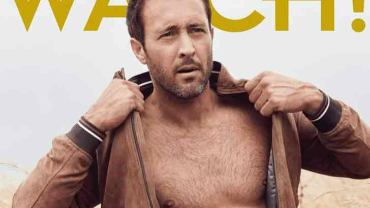 CBS Watch Magazine 2017-Alex O'Loughlin Multiple Language Translations
