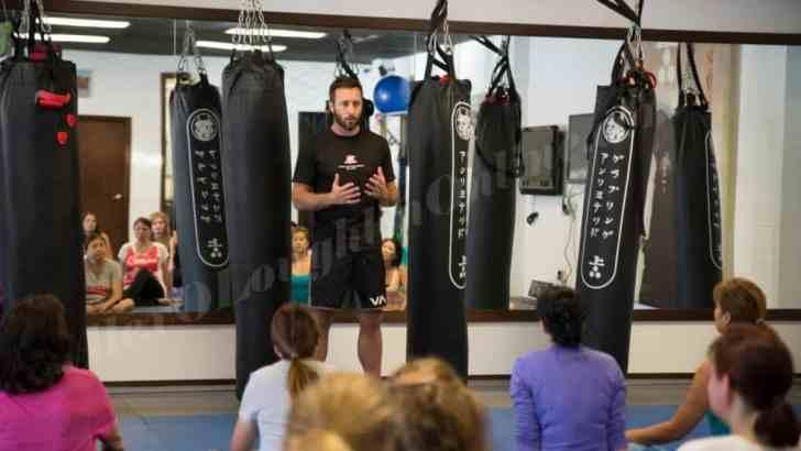 Alex O'Loughlin Self Defense Seminar 2015- A Day To Remember