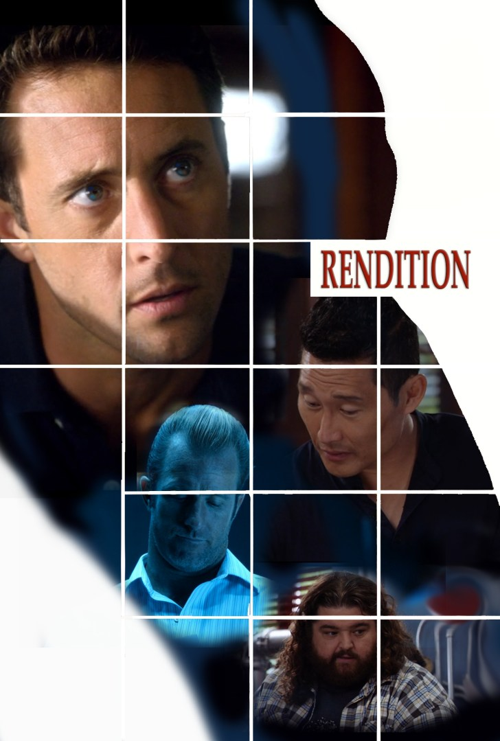 Hawaii five 0 Rendition fan fiction fanart