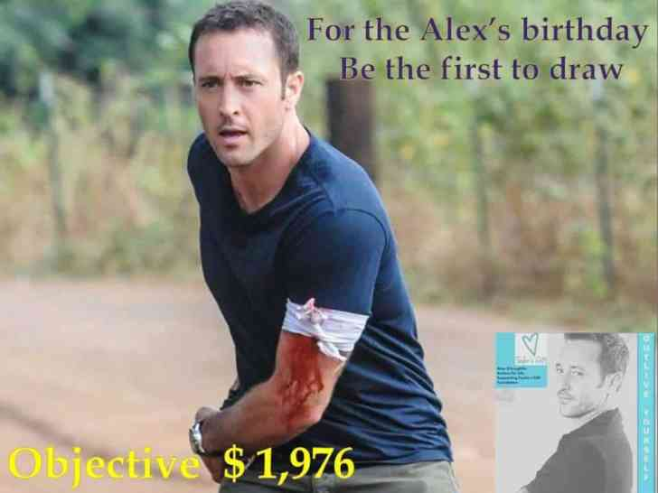 Alex O'Loughlin: Actions for Life - Supporting Taylor's Gift Foundation