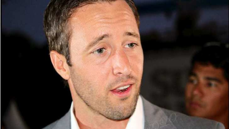 Alex O'Loughlin Sunset on the Beach