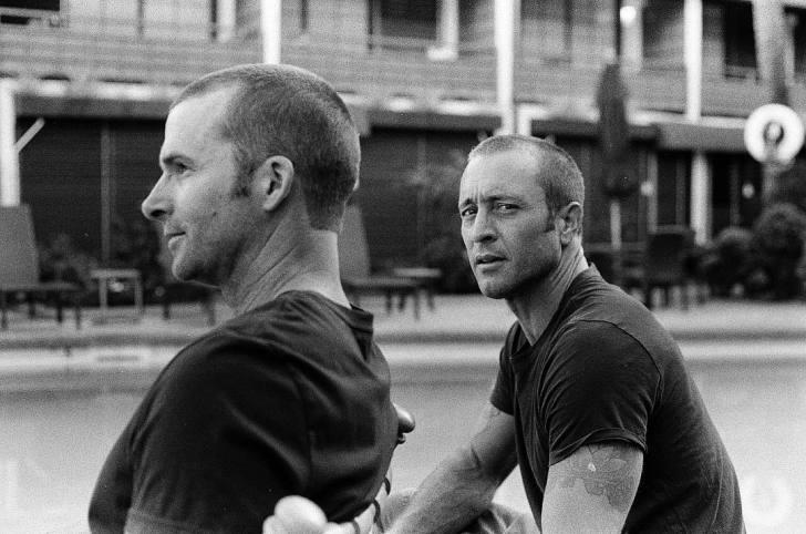 Alex O'Loughlin and Paul LaCovara