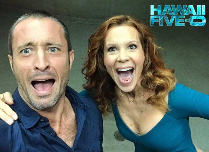 Alex O'Loughlin and Robyn Lively