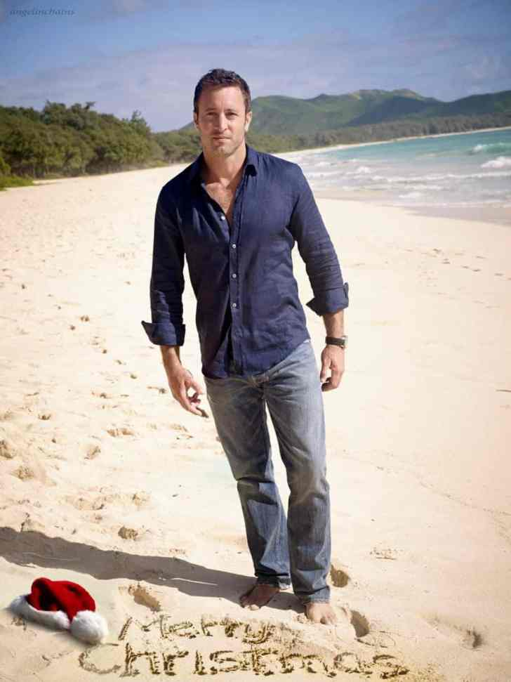 alex o'loughlin christmas fanart