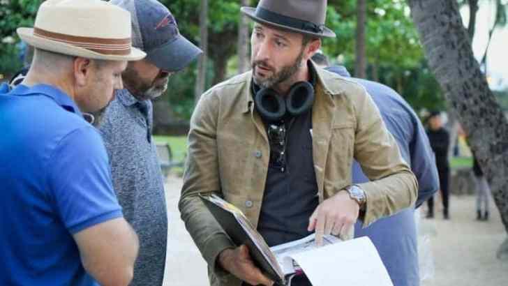 Alex O'Loughlin Directorial Debut Interviews