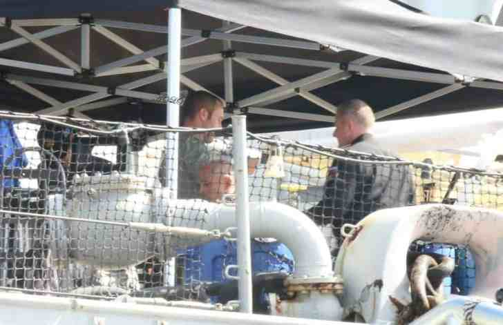 alex o'loughlin at Pearl Harbor