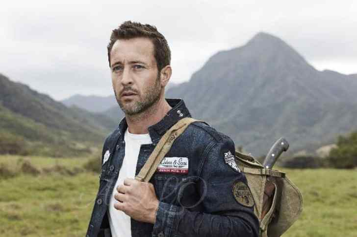 alex o'loughlin photoshoot camping