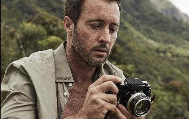 Alex O'Loughlin- Photography Day
