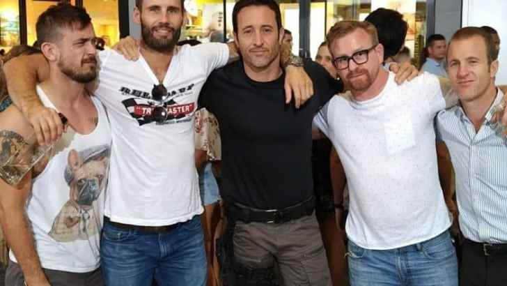 Alex O'Loughlin Wrap-Up- March 2019