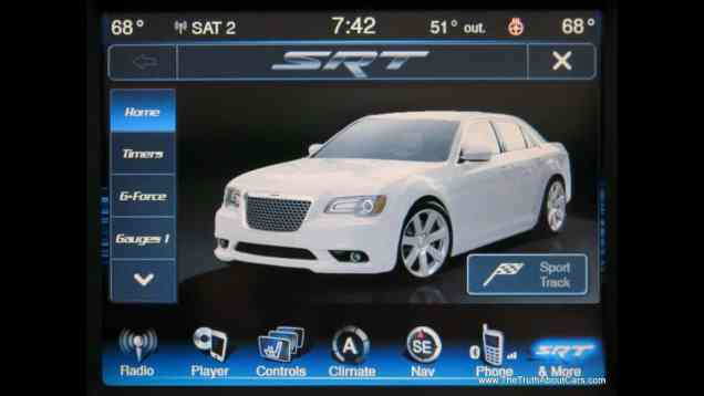 2013 Chrysler Dodge Jeep RAM uConnect 8.4 Infotainment System Review