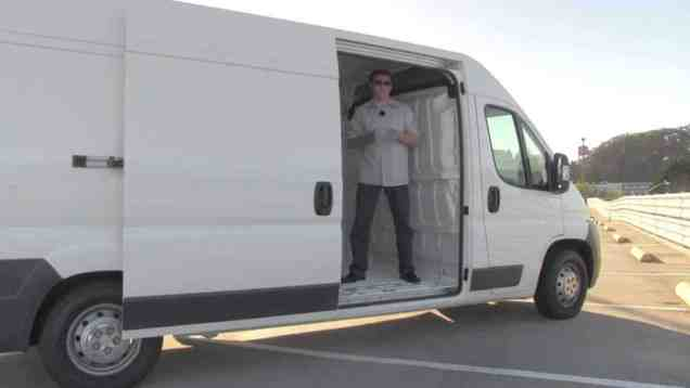 2013 Fiat Ducato Cargo Van Review and Road Test